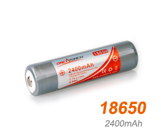 OrcaTorch li-ion Battery 18650
